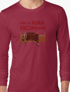 On A Rural Excursion Long Sleeve T-Shirt