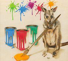 Adding a Splash of Colour by Karen  Hull