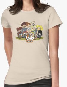 In the Loud House! Womens Fitted T-Shirt