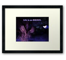 It's Dangerous Out There Framed Print