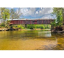 Cox Ford Covered Bridge Photographic Print