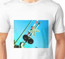 Railroad Crossing Unisex T-Shirt