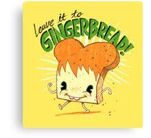 Gingerbread! Canvas Print