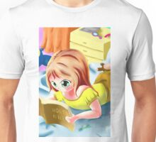 Girl Reading the Bible Unisex T-Shirt