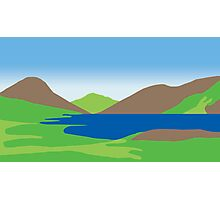THE LAKE DISTRICT Photographic Print