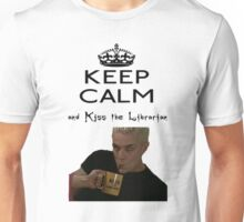 Buffy Spike Kiss the Librarian Unisex T-Shirt