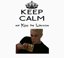 Buffy Spike Kiss the Librarian Unisex T-Shirt