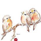 Three Little Birds 2 by Maree  Clarkson