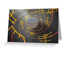 Charged Runes Greeting Card