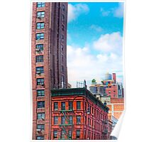 Generic New York - 7th Avenue Manhattan Street Scene Poster