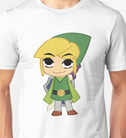Link with Yellow and Green Lines Unisex T-Shirt