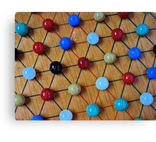 Chinese Checkers Canvas Print