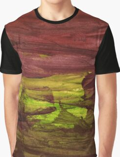 Abstract Watercolor textures Graphic T-Shirt