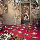 The Room of the Collagist. by Andy Nawroski