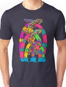 Pastel Mushroom Unisex T-Shirt