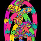 Pastel Mushroom by Octavio Velazquez