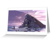 Steven Universe Night Temple Greeting Card
