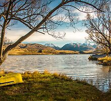 Lake Alexandrina by Phoxford