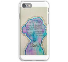 Taylor Swift style/clean speech  iPhone Case/Skin