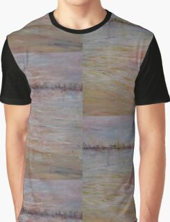 Sun setting over harbour Graphic T-Shirt