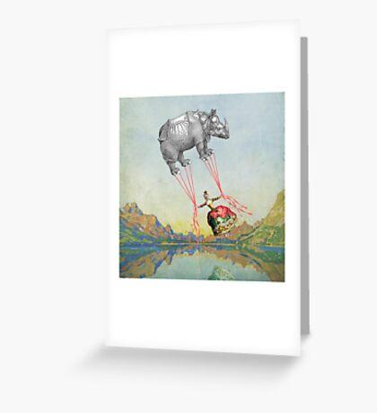 Aloft Greeting Card