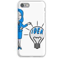 successful idea woman iPhone Case/Skin