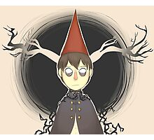 Beast!Wirt - Over The Garden Wall Photographic Print