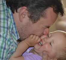 Daddy Kisses by Karen Checca