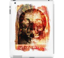 floral skully iPad Case/Skin