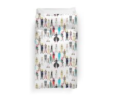 Bowie Scattered Fashion Duvet Cover