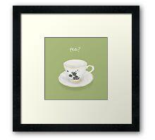 Tea? Framed Print
