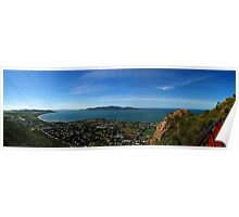 Magnetic Island from Castle Hill Poster