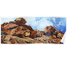 Devil's Marbles NT Poster