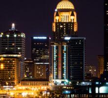 Louisville By Night Sticker