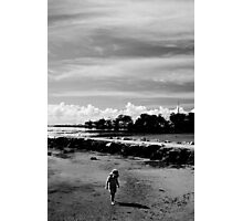 Child's Beach Play Photographic Print