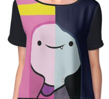 Marceline and Princess Bubblegum Chiffon Top