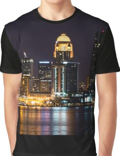 Louisville By Night Graphic T-Shirt