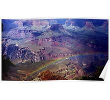 Arizona, Grand Canyon's rainbow Poster