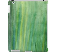 Abstract Watercolor strokes iPad Case/Skin