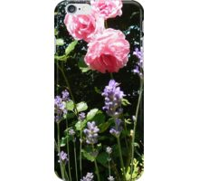 Roses and lavender iPhone Case/Skin