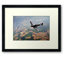 Spitfire victory Framed Print