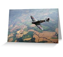 Spitfire victory Greeting Card