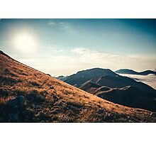 Mountains in the background XXIII Photographic Print