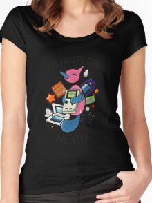 #474 Porygon Z - Genderless Nerd Women's Fitted Scoop T-Shirt