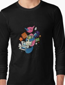 #474 Porygon Z - Genderless Nerd Long Sleeve T-Shirt