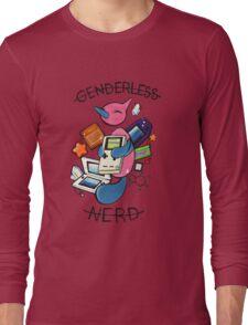 #474 Porygon Z - Genderless Nerd Long Sleeve T-Shirt