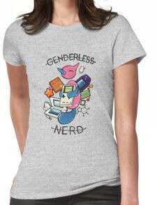 #474 Porygon Z - Genderless Nerd Womens Fitted T-Shirt