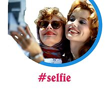 Thelma and Louise selfie - Susan Sarandon & Geena Davis by beemsss