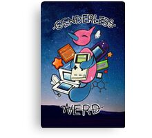 #474 Porygon Z - Genderless Nerd Canvas Print