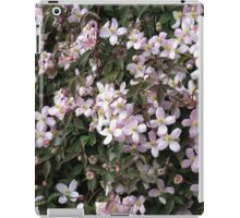 Wall of Blossoms - Montana Clematis iPad Case/Skin